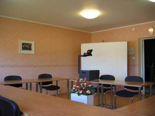 Small seminar room of Hotel Wesenbergh