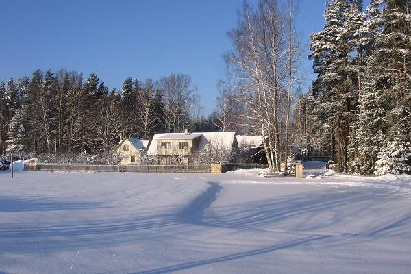 Männi Farm in winter