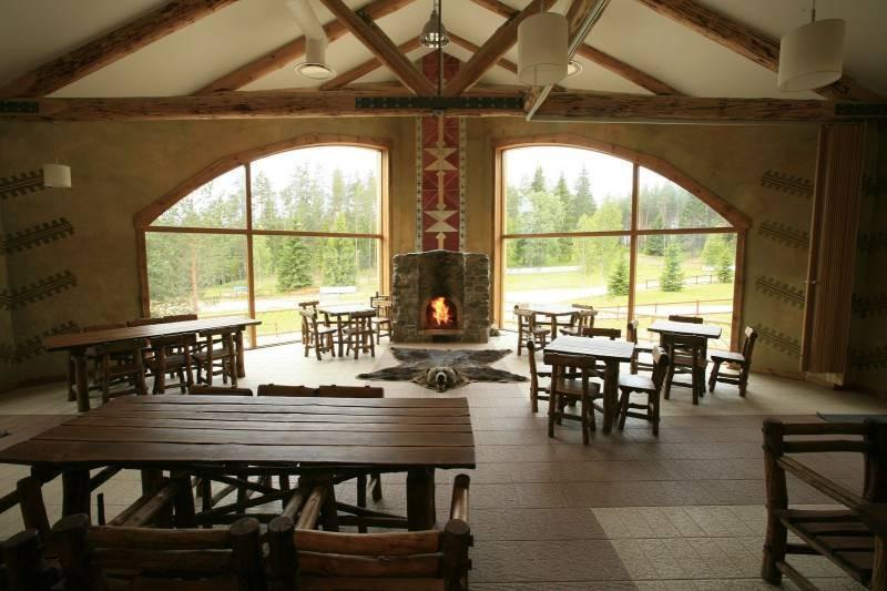 Valgehobusemägi Skiing and Holiday Centre – inside view