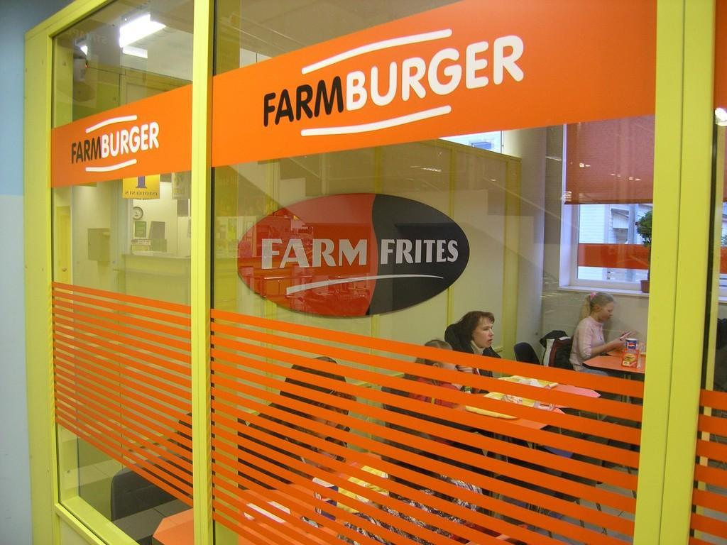 Das Fast-Food Farmburger in Rapla