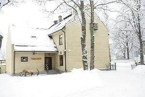 Veski Guesthouse in winter