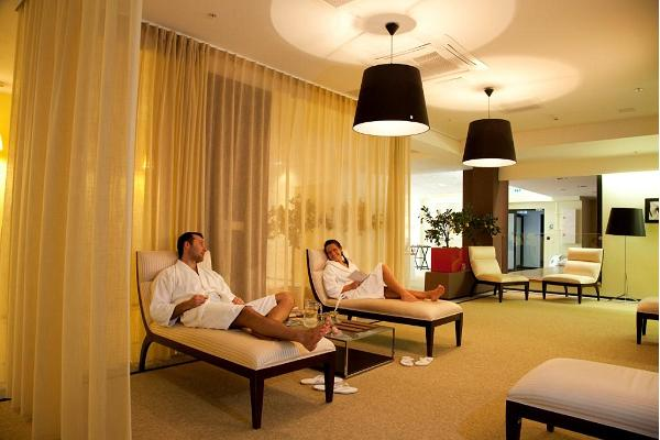Das Wellnesszentrum im Meresuu SPA & Hotel