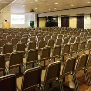 Radisson Blu Hotel Olümpia - conference centre: largest hall (Alfa)