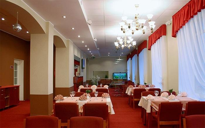 Narva restaurant – interior