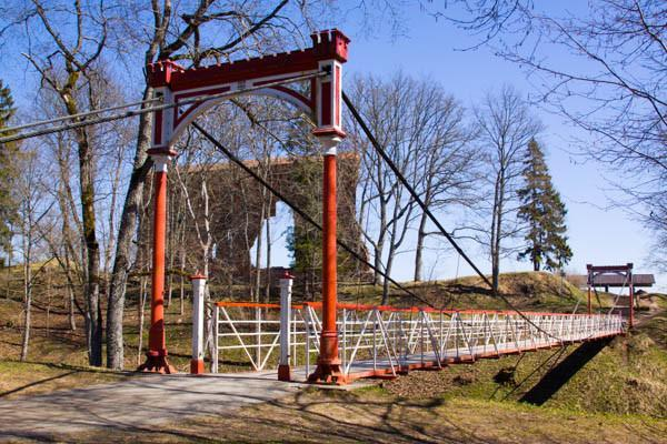 Viljandi Suspension Bridge