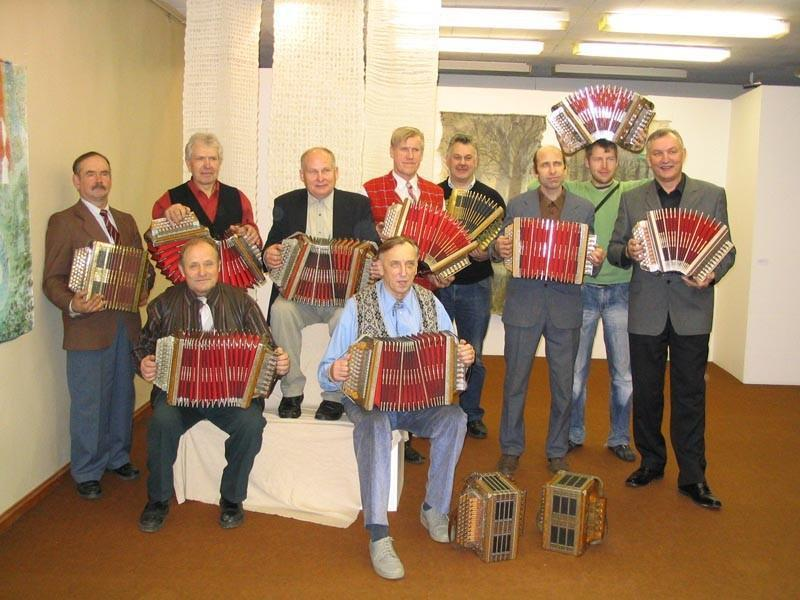 Musicians on the 110th anniversary of Teppo's instrument at the Võru County Museum