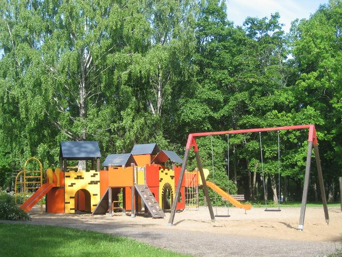 Rapla Children's Park in the town centre