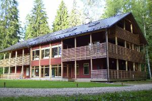 Conference building of the Taevaskoja Holiday Centre