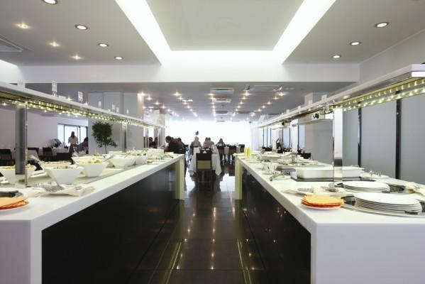 Meresuu Spa & Hotel buffet restaurant