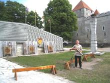 Archery at Kuressaare Castle