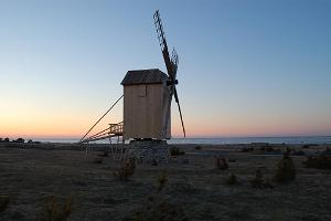 Windmill on the seashore