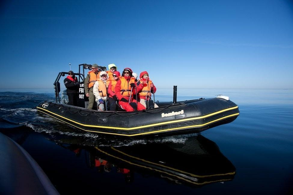 RIB speed boat