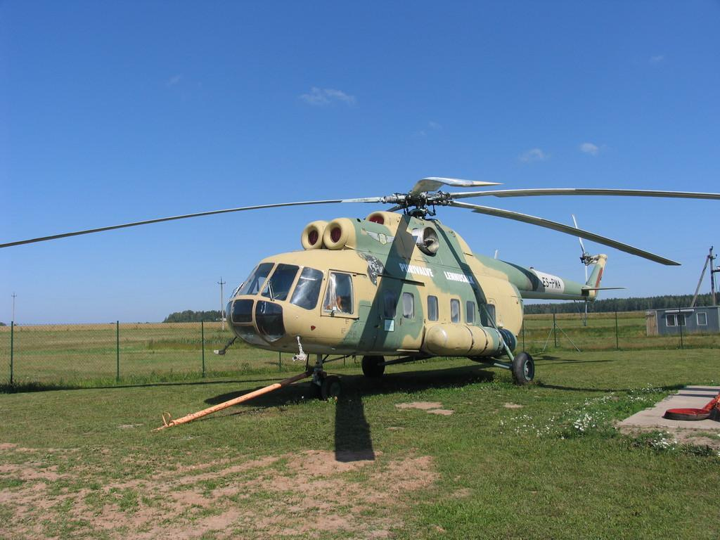 Helicopter MI-8