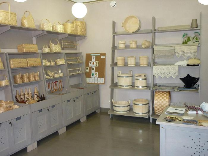 The Avinurme 'Way Of Life' Centre - showroom