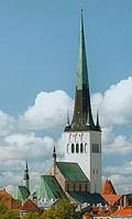 Oleviste Church in Tallinn