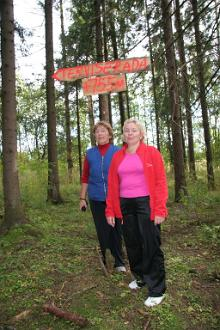 Fitness-Strecken im Priimetsa-Wald