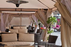 Grand Rose SPA summer terrace