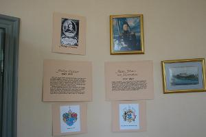A. J. von Krusenstern memorial room – display about Krusenstern