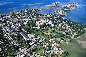 Haapsalu from above