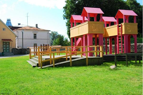 Ilon's Yard, a children's park in Haapsalu