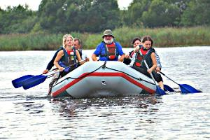 Sommerliches  Rafting