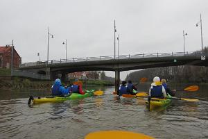 Kayaking on the Emajõgi River