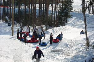 Snowtube track at Valgehobusemäe Skiing and Holiday Centre