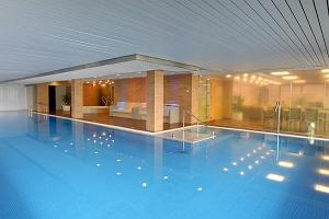 Sauna and swimming pool