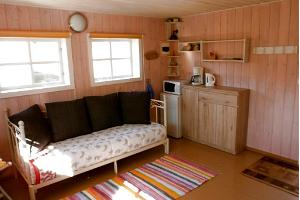 Koogi Tourist Farm, kitchenette in the sauna