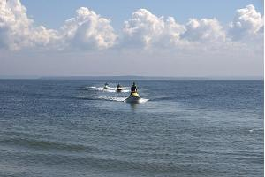 Jet ski safaris to the islands of Kolga bay