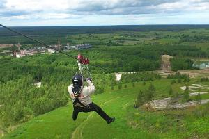 Estonia's longest zip-line