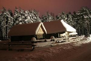Christmas Village at the Open Air Museum