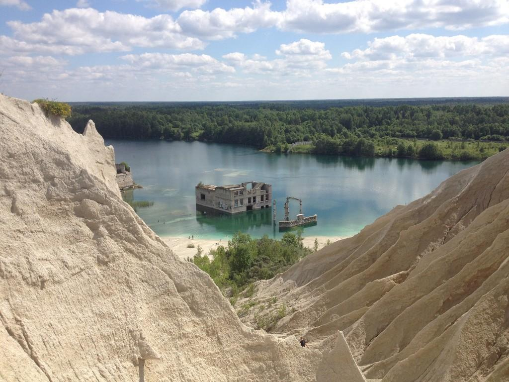 rummu quarry  estonia