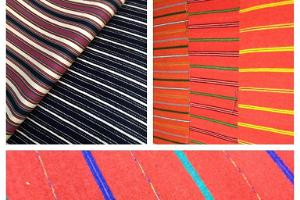 Fabric for folk costumes