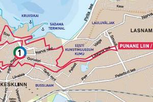 Tallinn City Tour – Rote Linie