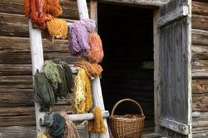 Yarn-dyeing workshop