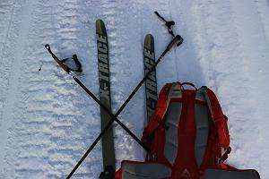 X-Trace hiking skis