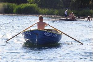 Rowboat hire and rental