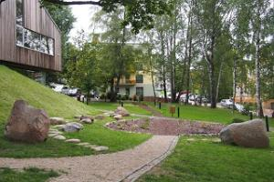 The park of Tartu Environmental Education Centre