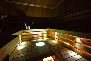 Sauna at Triobet Go-Kart Centre
