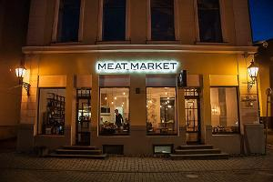 Exterior of the Meat Market Cocktail Bar
