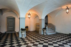 Saue Manor, entrance hall