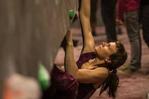 Climbing competition at the Ministry of Climbing