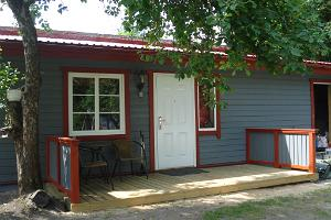 Cottage from the outside