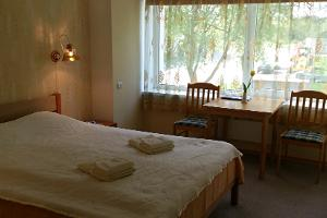Double room at the Sõrve Guesthouse