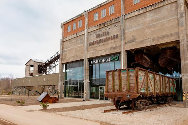 Estonian Mining Museum - visitor centre of the enrichment factory