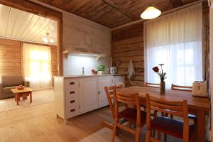 Kitchen in the summer apartment Gloria