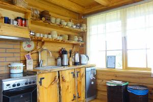 Kitchen at the Juula Guesthouse
