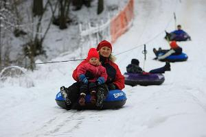 Tallinn Song Festival Grounds Winter Centre - snowtubing and sledding