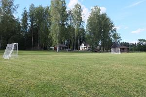 Nõmme Recreation Centre beach volleyball and street basketball courts